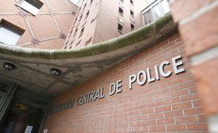 Le commissariat central de police de Roubaix.