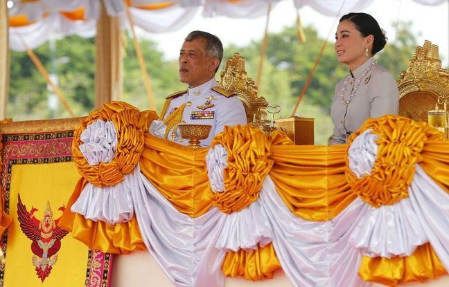 648x415 roi thailande rama x reine suthida lors ceremonie officielle mai 2019
