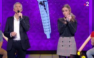 La candidate Margaux cartonne dans l'émission N'oubliez pas les paroles présentée par Nagui.