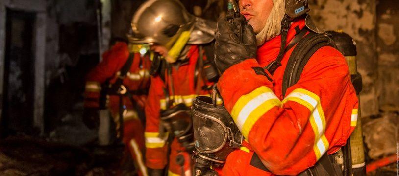 Des marins-pompiers en intervention, à Marseille (illustration).