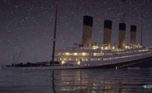 Le naufrage du «Titanic» reconstitué en 3D.