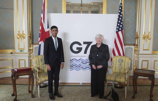 648x415 ministre finances britannique rishi sunak gauche rencontre homologue americaine janet yellen londres jeudi 3 juin 2021