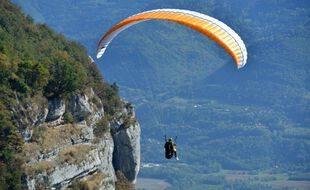 Un parapentiste, ici dans les Hautes-Pyrénées. (illustration)