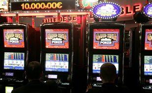 Des machines à sous au casino de jeux Barrière à Toulouse. (Archives)