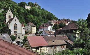 Ferrette dans le Haut-Rhin.