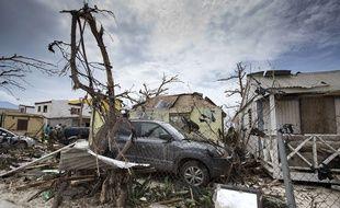 Les dégâts causés par Irma sont énormes. Ici, une photo prise à St-Martin le 7 septembre.
