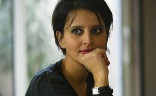 Najat Vallaud-Belkacem, en février 2012 à Lyon.