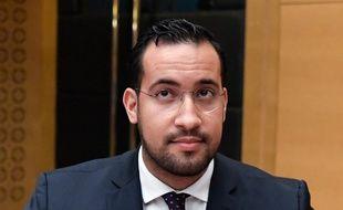 Alexandre Benalla, le 19 septembre 2018 devant la Commission d'enquête du Sénat.