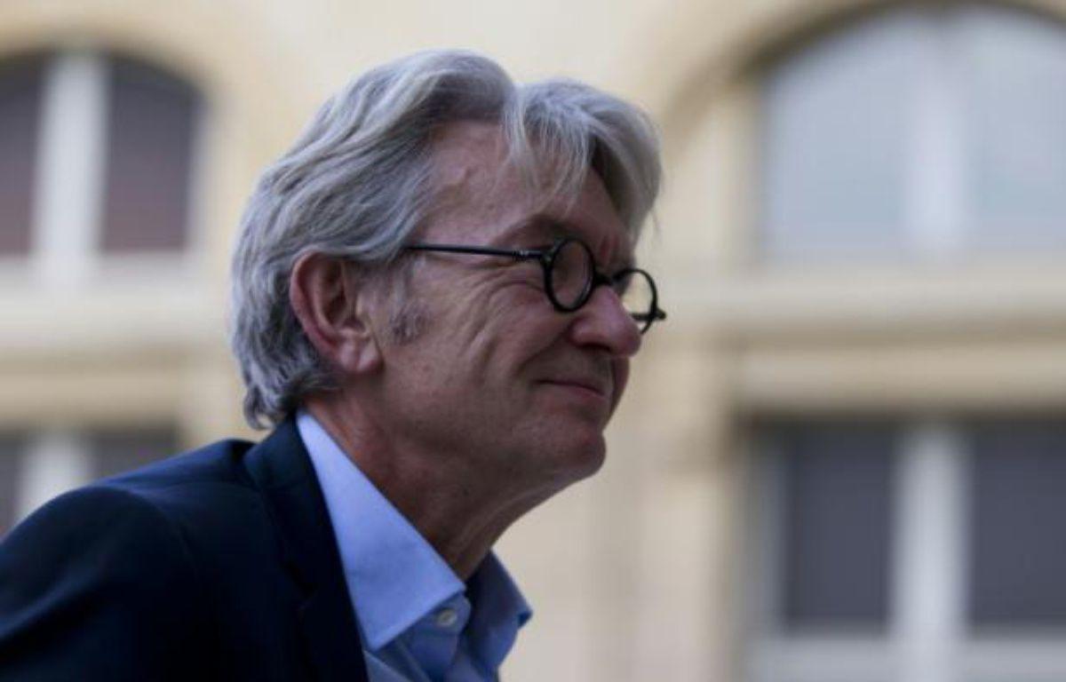 Jean-Claude Mailly, secrétaire général de FO, le 7 septembre 2015 à Paris – Kenzo Tribouillard AFP