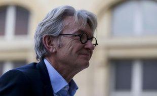 Jean-Claude Mailly, secrétaire général de FO, le 7 septembre 2015 à Paris