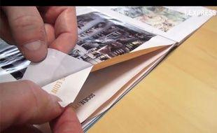 Le magazine Corsica a censuré sa propre enquête avec de la glue. Une opération de collage qui aurait coûté 4.000 euros, selon L'Express.fr.
