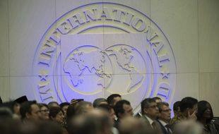 Image d'illustration d'une réunion au Fonds monétaire international (FMI) à Washington.