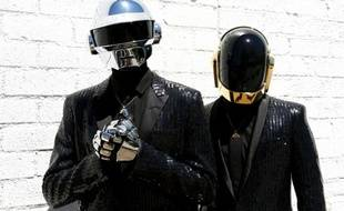 Les Daft Punk, à Los Angeles, en avril 2013.