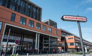 L'entrée des urgences de l'hôpital Pierre-Paul Riquet au CHU Purpan, à Toulouse, le 20 mars 2020.
