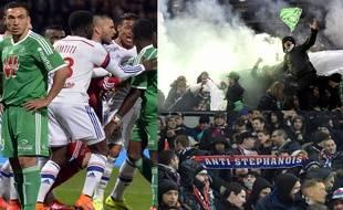 L'antagonisme historique entre Lyonnais et Stéphanois, que ce soit sur le terrain ou dans les tribunes, semble actuellement battre de l'aile.