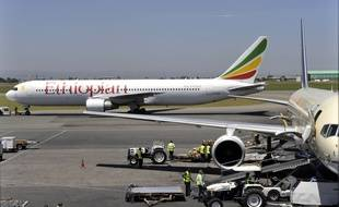 Un Boeing 777 d'Ethiopian Airlines. Illustration.