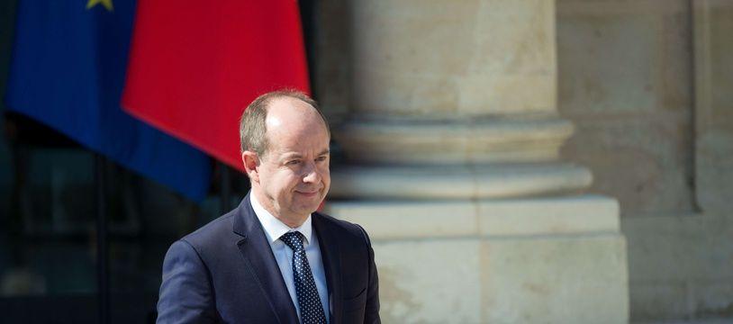 L'ancien ministre de la Justice Jean-Jacques Urvoas, ici à Paris en mai 2017.