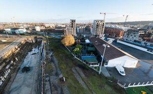 Le quartier des Bassins à Flot, qui pourrait accueillir un pôle de rénovation de yachts de luxe