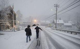 Le trafic aérien sur la côte Est des Etats-Unis était revenu à la normale dimanche après d'importantes chutes de neige, historiques pour la saison, qui ont fait trois morts et privé d'électricité trois millions de foyers.