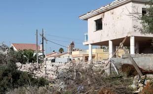 La maison d'Alcanar détruite par l'explosion
