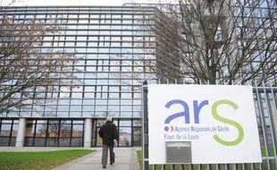 L'agence régionale de santé (ARS) des Pays-de-la-Loire, à Nantes.