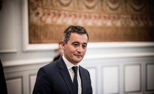Gérald Darmanin au ministère de l'Intérieur à Paris le 8 juillet 2020.