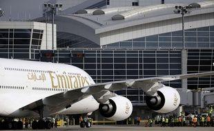 Illustration d'un avion Emirates