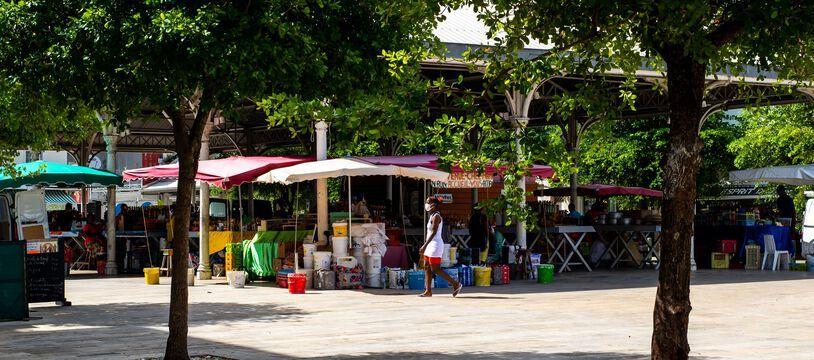 A Capesterre-Belle-Eau en Guadeloupe (Illustration)