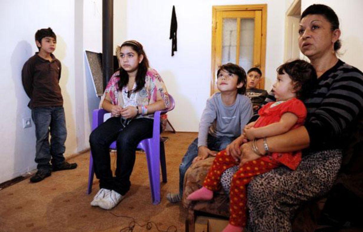 La famille de Leonarda, au Kosovo.  – Armend Nimani / AFP