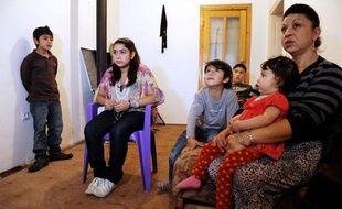 La famille de Leonarda, au Kosovo.
