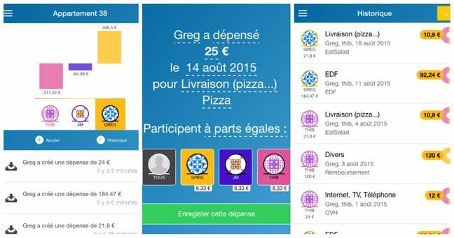 L'application Ze-coloc.