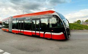 Bus de type Exquicity de Van Hool