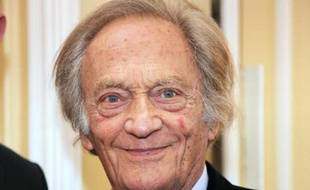 Le chroniqueur Philippe Tesson, président du Prix littéraire Interallié, le 20 novembre 2014 à Paris