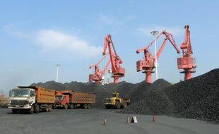 Le port de Lianyungang, en Chine, le 5 août 2015