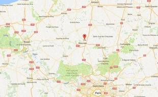 La commune de Tillé, dans l'Oise.