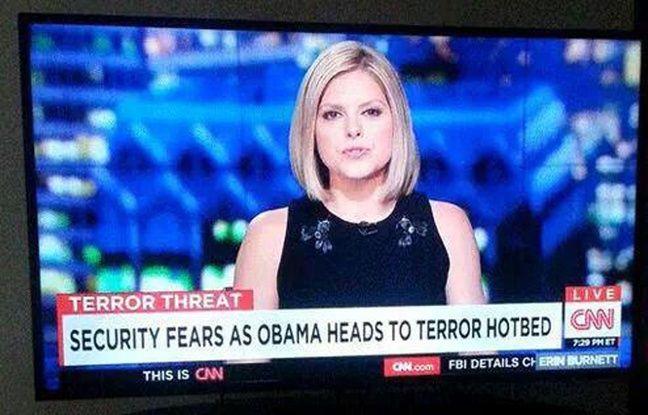 Le bandeau de CNN crée la polémique au Kenya.