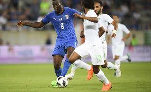 Mario Balotelli a fait son retour avec l'Italie