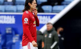 Cavani a été suspendu trois matchs par la FA.