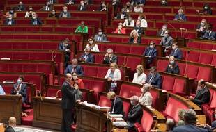 Le PRemier ministre Jean Castex, à l'Assemblée nationale le 15 juillet 2020.