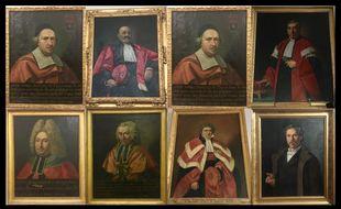 Les doyens de la faculté de médecine de Toulouse.
