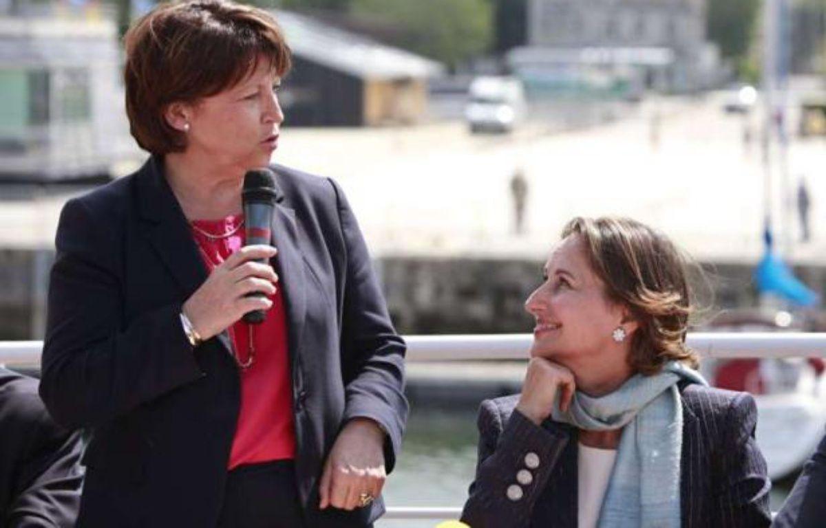 Martine Aubry et Ségolène Royal, le 12 juin 2012 à La Rochelle. – Thibault Camus/AP/SIPA