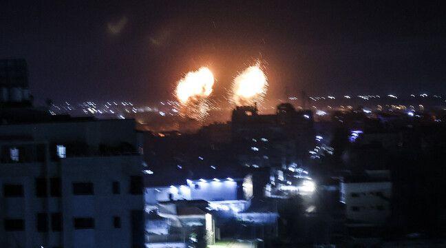 Gaza : Nouvelles frappes israéliennes en réponse à des ballons incendiaires