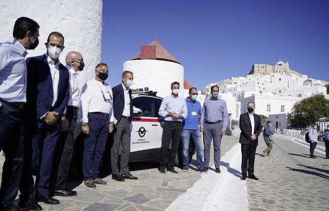 VW électrifie l'île d'Astypalée