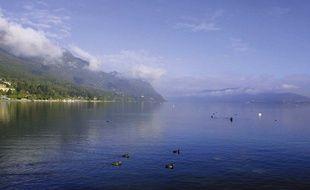 Le lac du Bourget en Savoie