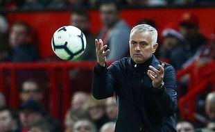 José Mourinho, l'entraîneur de Manchester United, revient à Stanford Bridge affronter son ancien club de Chelsea, le 20 octobre 2018.