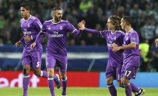 Benzema a marqué le but de la victoire à Lisbonne