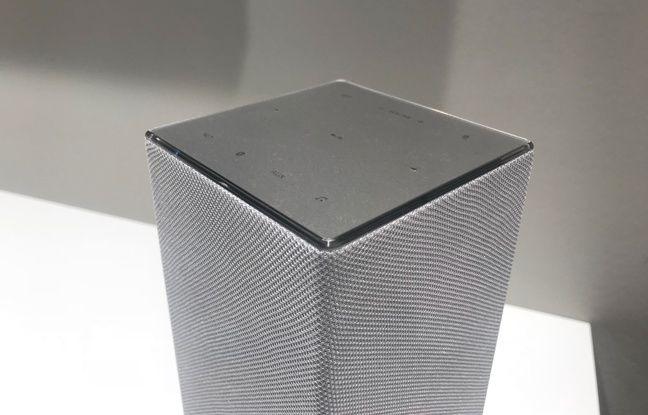 L'enceinte GA10 de Panasonic embarque Google Assistant.