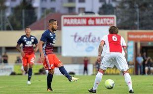 Nabil Fekir en match de préparation contre l'Ajax