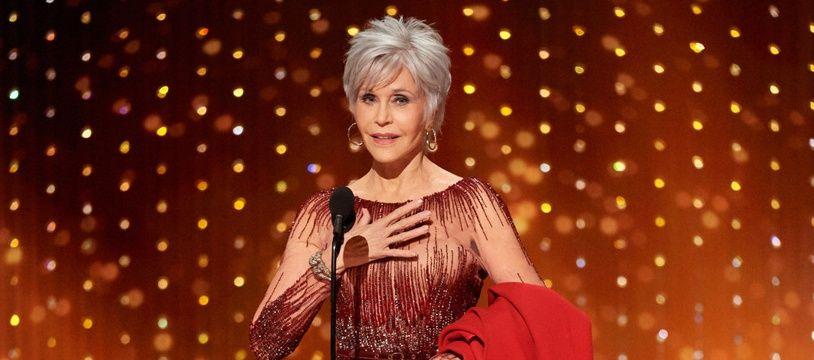 L'actrice Jane Fonda à la 92e cérémonie des Oscars