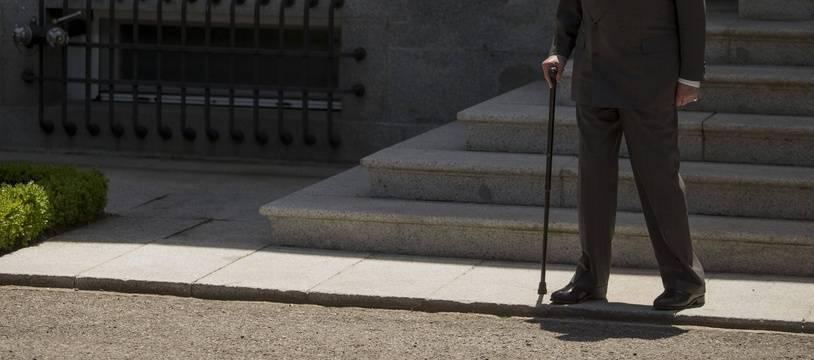 L'ex roi Juan Carlos en Espagne en 2014.
